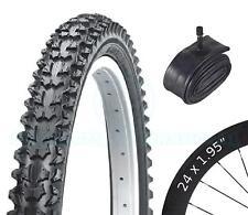 Fahrrad Reifen Rad Reifen - Mountainbike - 24 x 1.95 - mit Schrader Schlauch