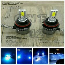 2x 9007 HB5 8000k ice blue LED Headlight Bulbs High Low Beam Conversion Kit Pair