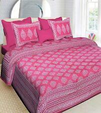 100% Cotton Comfort 180 TC Rajasthani Jaipuri Traditional King Size