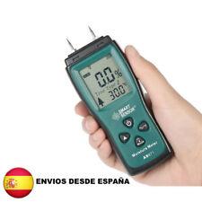 Higrómetro digital para de madera hormigón y yeso medidor de humedad  AS971