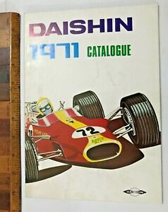 VINTAGE DAISHIN JAPAN 1971 TIN TOY CAR CATALOG! HERBIE LOVE BUG BOOTLEG ROBOTS +