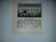 Delco Brakes Ohio 1941 Baseball Team Picture RARE!