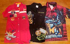 7-8 Boys Lot 3 Shirts Disney Batman Star Wars Jedi