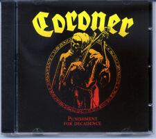 "Coroner ""Punishment For Decadence"" 1988, CD"