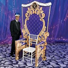 ROYAL CELEBRATION KING'S THRONE FOR HIM *party decoration * birthday * fairytale