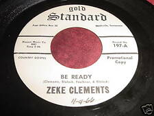 ZEKE CLEMENTS - BE READY / DON'T BE ASHAMED - PROMO 45