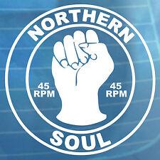 Northern Soul Auto Adhesivo 45 Rpm van parachoques Ventana Etiqueta del vinilo