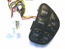 F5VF-14K147-CB 95 LINCOLN TOWN CAR  TEMP FAN RADIO MEM BAND CONTROL SWITCH