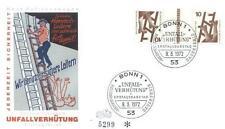 Germany 1972 FDC KZ 9a Zusammendrucke