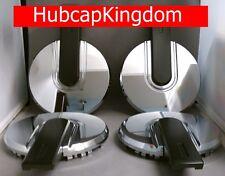2006-2010 NEW HUMMER H3 AM Wheel CHROME w/ BLACK BAR Center Cap Hubcap SET of 4
