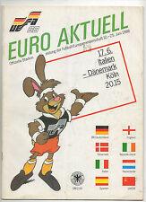 Orig.PRG    EM Deutschland 1988  ITALIEN - DÄNEMARK  !!  SEHR SELTEN