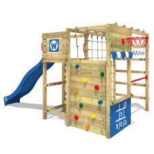 WICKEY Parco giochi Smart Victory Torretta d'arrampicata in legno con scivolo
