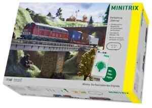 Minitrix Startset Güterzug T 11146