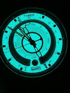 Timex Intelligent Quartz T2N721 Mens Natural Tide Temp Compass Watch