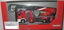 Herpa 092128 man Tgl Metz L32 A-xs Drehleiter Feuerwehr Ottendorf-okrill
