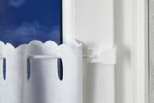 Gardinenstange 30-150 cm » ohne Bohren & Kleben » | Scheibengardinenstange