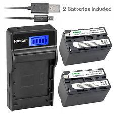 Kastar Battery Charger Sony CCD-TRV36 TRV37 TRV41 TR3300 TRV615 TRV130 TRV210