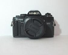 MINOLTA X-700 BLACK 35 mm FILM SLR CAMERA & 50 / 2 LENS