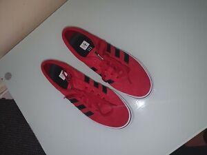 Adidas Originals Gazelle Shoes Trainers Red Black 100% Authentic