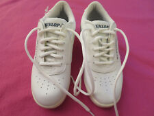 Dunlop White Bowling Sneakers Shoes Women's 6