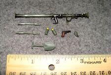 1:18 BBI Elite Force WWII U.S Bazooka Rocket Launcher Grenade .45 Pistol set B