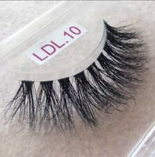 3D Real Mink Clear Band Eyelashes Make Up Extension Full Volume New