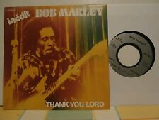 """bob marley""""thank you lord""""wisdom""""single7""""or.fr.pathé:trojan:2c00864459 de 1981."""