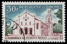 DAHOMEY 212 (Mi267) - Porto Novo Cathedral (pa77774)