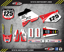 Honda CR 125 1995 - 1997 Full Custom Graphic Kit TWO TWO STYLE stickers / decals