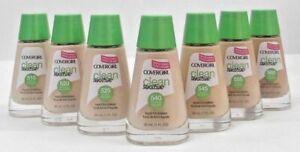 CoverGirl Clean Sensitive Liquid Foundation 1 Fl Oz CHOOSE YOUR SHADE New
