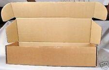 10 x 364x75x122mm Single Wall Cardboard Postage Box ideal Model Railway or Coach