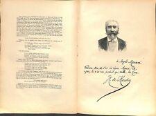 Portrait José-Maria de Heredia écrivain de Cuba Espagne parnassien à Paris 1897