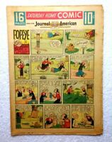 1957 COMIC SECTION • NEW YORK Journal •16 Pages• BUCK ROGERS Popeye LONE RANGER