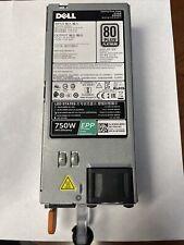 Genuine Dell 750W EPP 80 Plus Platinum  Power Supply D750E-S6 for Crypto Miner