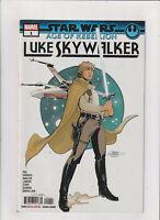 Star Wars Age of the Rebellion- Luke Skywalker #1 NM- 9.2 Marvel Comics 2019