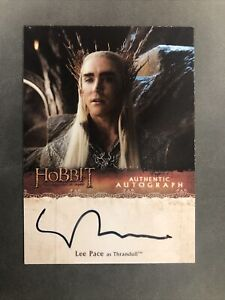 2015 The Hobbit: The Desolation of Smaug Lee Pace as Thranduil Autograph Card
