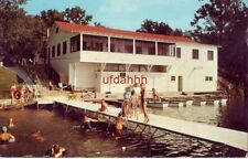 THE SALVATION ARMY, ARMY LAKE CAMP, EAST TROY, WI Waterfront view, swimmers 1966