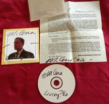 """MICHAEL GIRA """"Living '02"""" CD Used #209/300 Autographed (Swans, Angels Of Light)"""