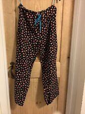 Vera Bradley Corderoy Loungeware Pants Size Medium