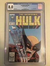 THE INCREDIBLE HULK 340 CGC 8.0