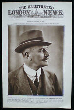 FIELD MARSHAL EDMUND ALLENBY HENRY WALTER BARNETT PHOTOGRAPHER PHOTO STUDY 1920