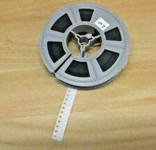 Standard 8 mm white leader for cine  film,