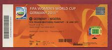 Orig.Ticket    Frauen WM DEUTSCHLAND 2011   DEUTSCHLAND - NIGERIA // Spiel 9  !!