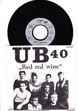 "7"" - UB40 - Red Red Wine -------"