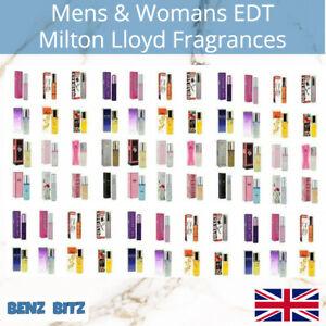 Milton Lloyd Perfume Mens Womens Aftershave Eau De Toilette Fragrance Body Spray