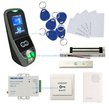 Biometric fingerprint access control system Iface7 time attendance Kit Mag Lock