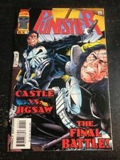 Punisher#10 Incredible Condition 9.2(1996) Jigsaw Battle, Tom Lyle Art!!