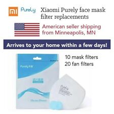 Xiaomi Purely Face Mask Filters (10 Mask Filters, 20 Fan Filters)🇺🇸 Usa Seller
