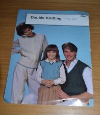 PHILDAR * DK * FAMILY SLIPOVERS KNITTING PATTERN * 3166