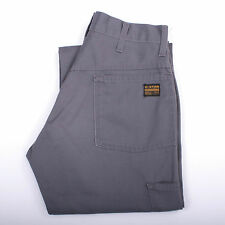 G STAR WORKER ORIGINALS USA GREY MENS JEANS STRAIGHT LEGS CUT PANTS W29 L34 LOOK